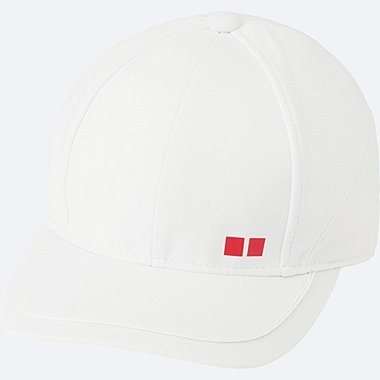 MEN TENNIS CAP, WHITE, medium