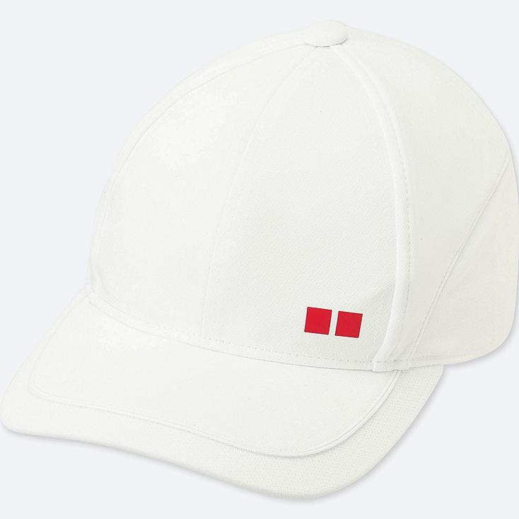 Tennis Cap, WHITE, large