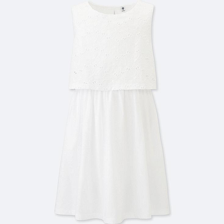 GIRLS Lace Sleeveless Dress