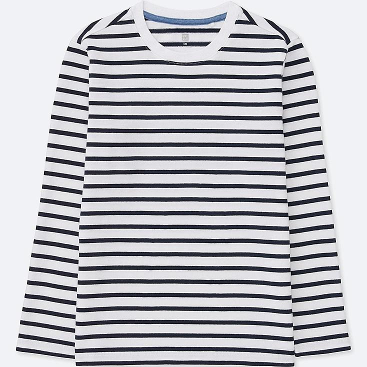 BOYS Striped Crew Neck Long Sleeve T-Shirt