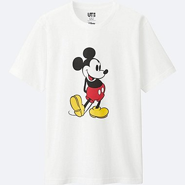 MICKEY STANDS SHORT SLEEVE GRAPHIC T-SHIRT, WHITE, medium