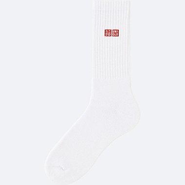 MEN TENNIS SOCKS, WHITE, medium