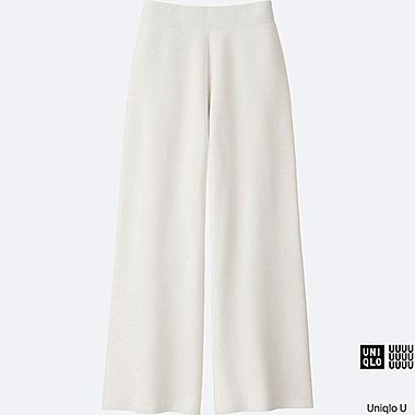 WOMEN Uniqlo U Milano Ribbed Trousers