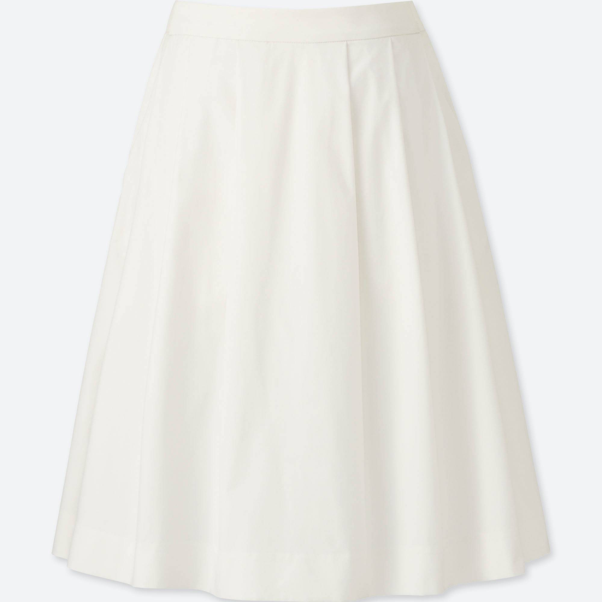 White Stretch Skirt