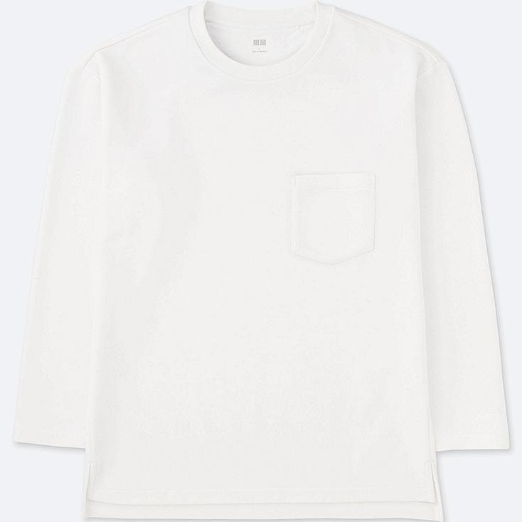 MEN Oversized Long Sleeve Sweat T-Shirt