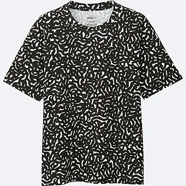 MEN SPRZ NY Super Geometric GRAPHIC T-SHIRT (SOL LEWITT), WHITE, medium