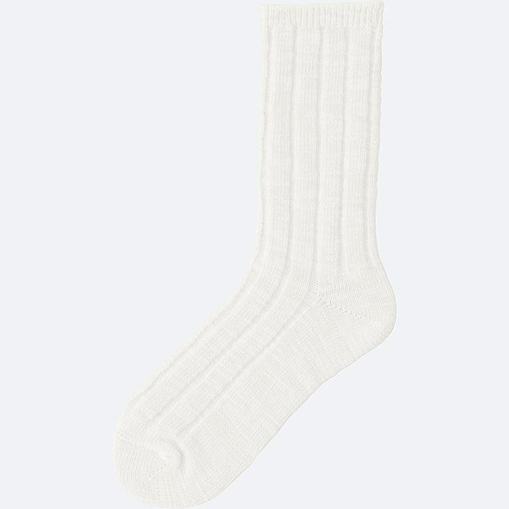 WOMEN Socks (Slub Rib)