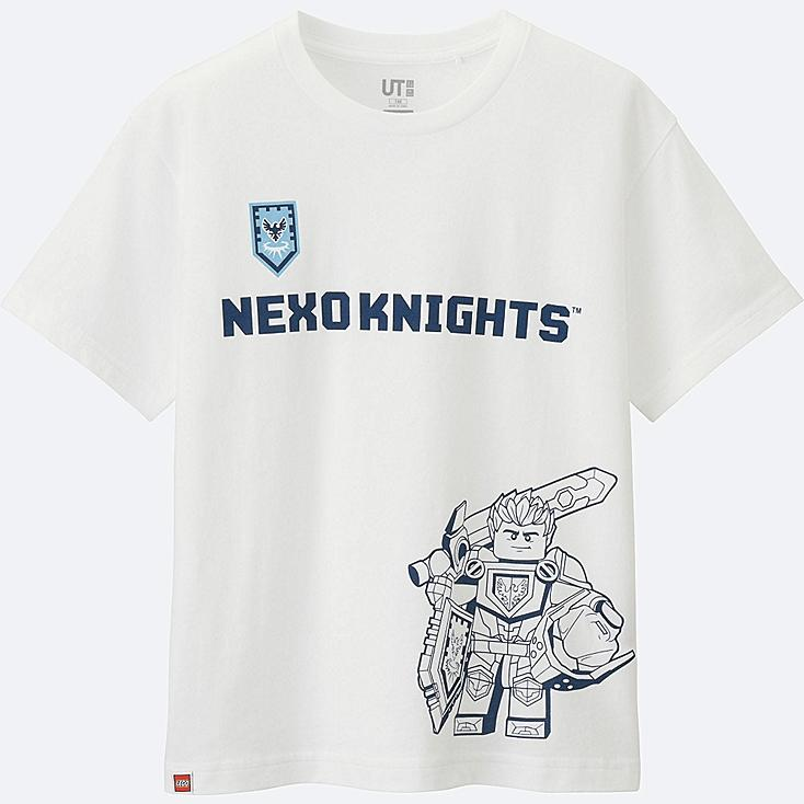 BOYS LEGO®NEXO KNIGHTS SHORT SLEEVE T-SHIRT, WHITE, large