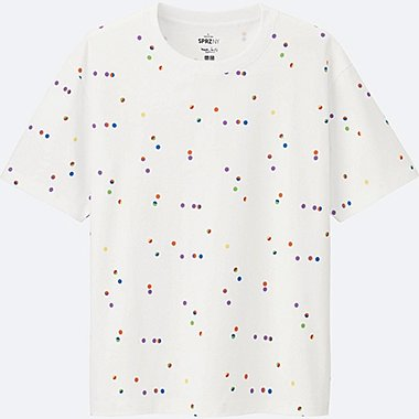MEN SPRZ NY Super Geometric GRAPHIC T-SHIRT (MAX BILL), WHITE, medium