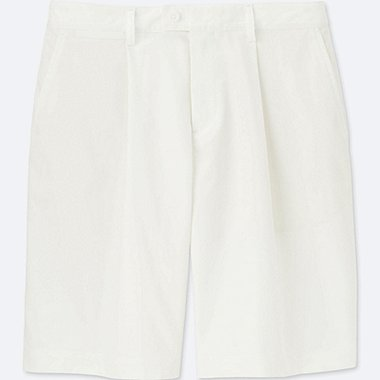WOMEN DRY STRETCH KNEE-LENGTH SHORTS, WHITE, medium