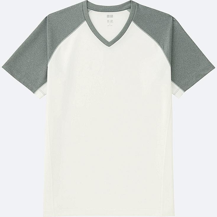 MEN Dry-EX Short Sleeve V Neck T-Shirt