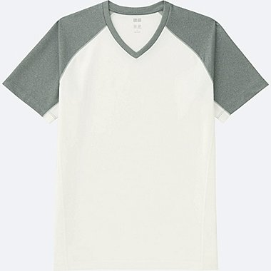 MEN Dry-EX Short Sleeve V Neck T-Shirt