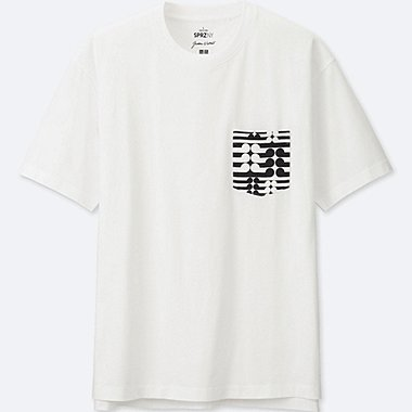 MEN SPRZ NY  GRAPHIC T-SHIRT (Gordon Walters), WHITE, medium