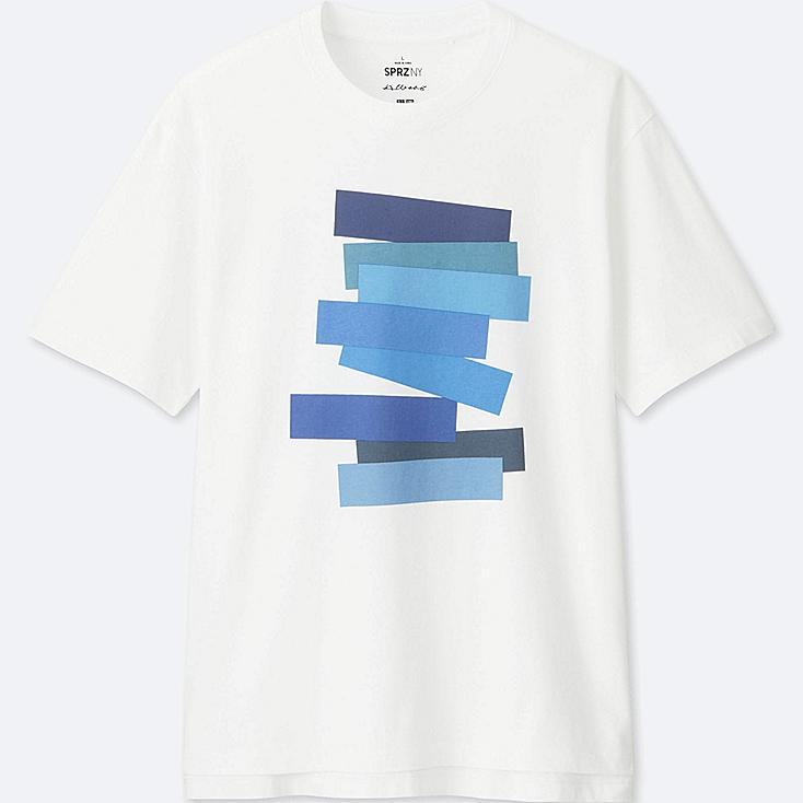 MEN SPRZ NY Graphic T-Shirt (Josef Albers)