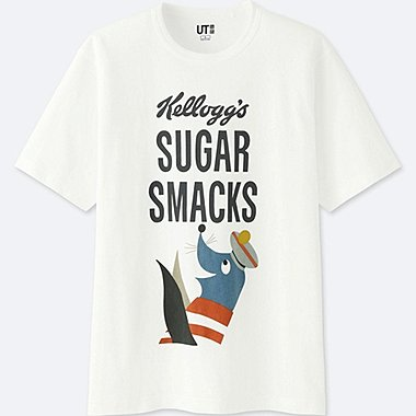 MEN THE BRANDS SHORT-SLEEVE GRAPHIC T-SHIRT (KELLOGGS) (ONLINE EXCLUSIVE), WHITE, medium