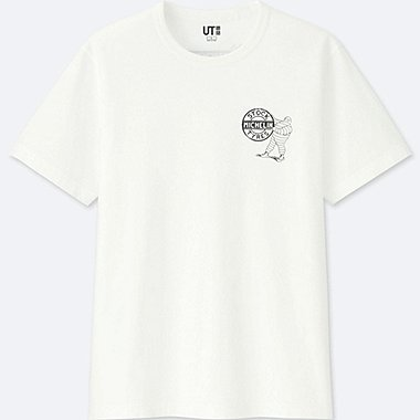 THE BRANDS SHORT-SLEEVE GRAPHIC T-SHIRT (MICHELIN), WHITE, medium