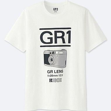 THE BRANDS SHORT-SLEEVE GRAPHIC T-SHIRT (RICOH), WHITE, medium