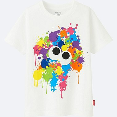KIDS UTGP (NINTENDO) SHORT-SLEEVE GRAPHIC T-SHIRT, WHITE, medium