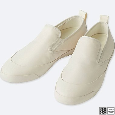 U SLIP-ONS, WHITE, medium