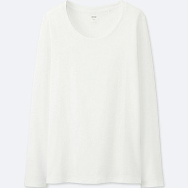 DAMEN SUPIMA COTTON LANGARMSHIRT