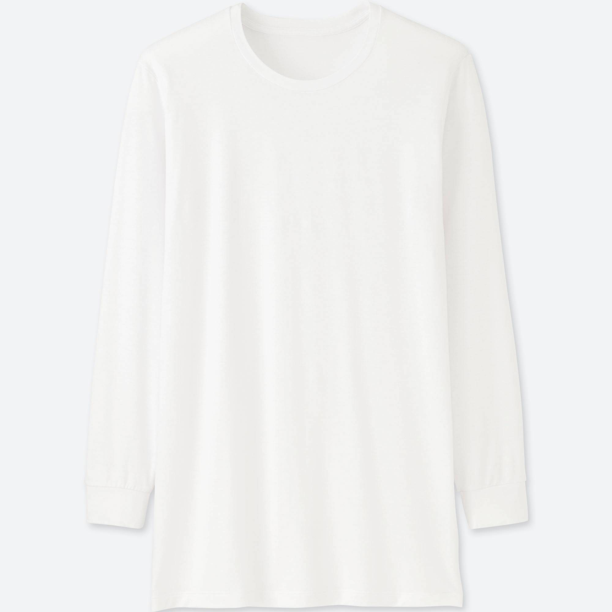 MEN HEATTECH CREW NECK T-SHIRT (LONG-SLEEVE) | UNIQLO US