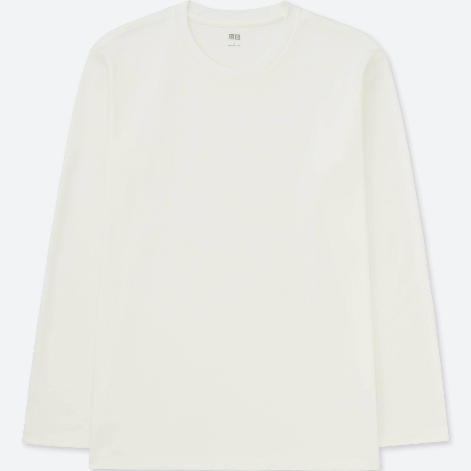 MEN SOFT TOUCH CREWNECK LONG-SLEEVE T-SHIRT | UNIQLO US