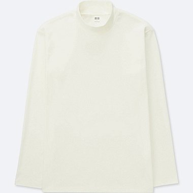 T-SHIRT SOFT-TOUCH COL MONTANT HOMME