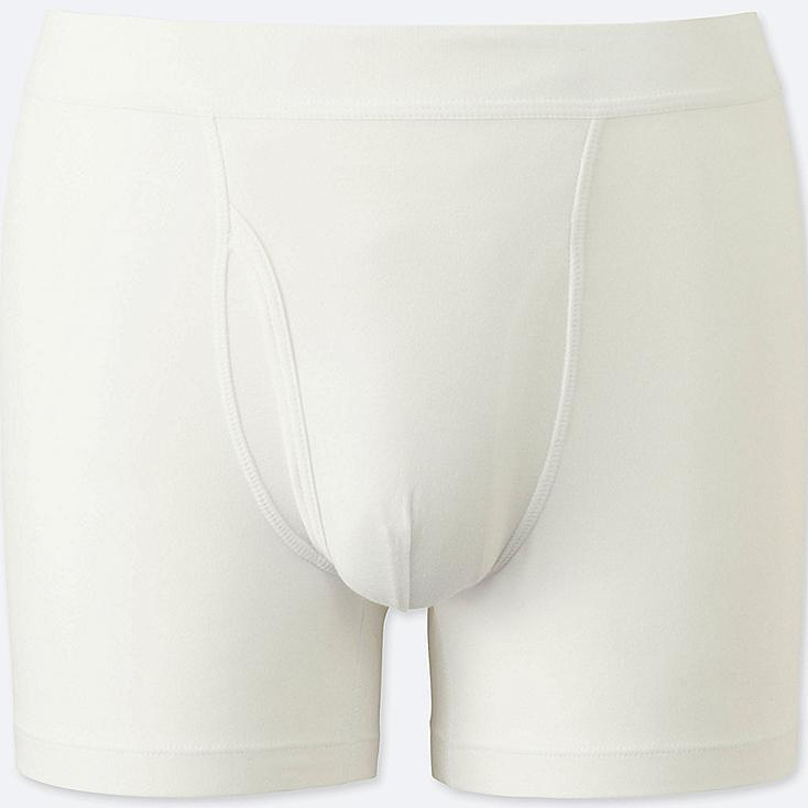 MEN SUPIMA COTTON BOXER TRUNKS
