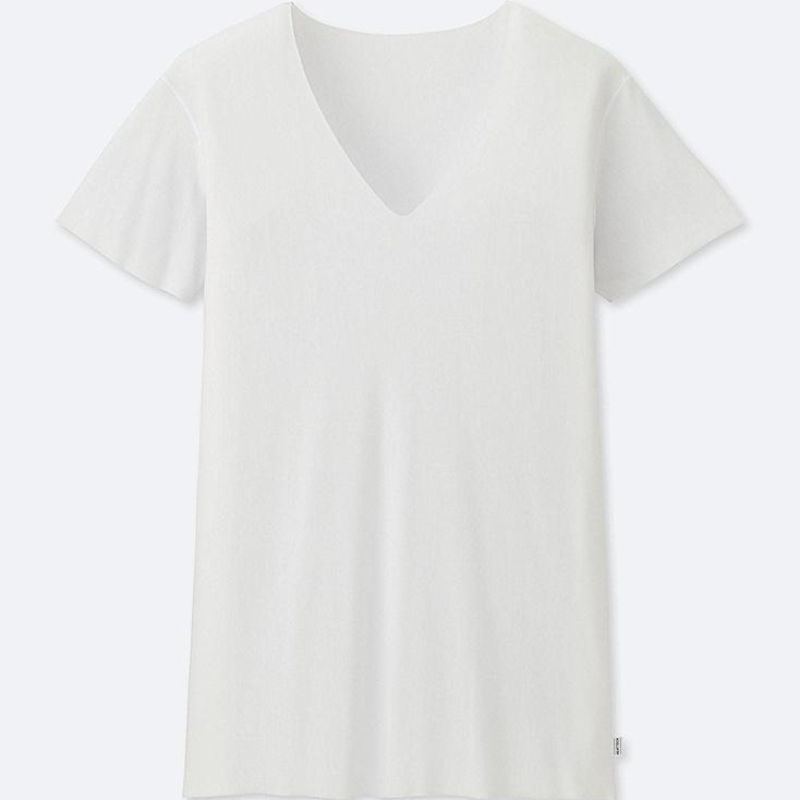 HOMBRE HEATTECH Camiseta Manga Corta Cuello Pico