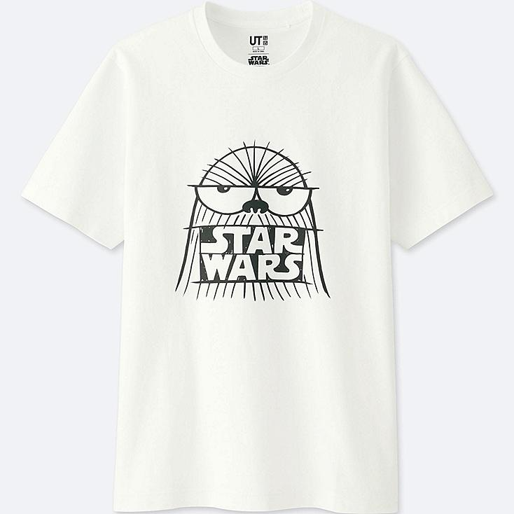MEN STAR WARS | ARTIST COLLECTION GRAPHIC T-SHIRT (KEVIN LYONS), WHITE, large