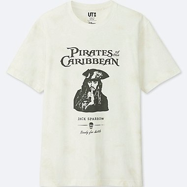 HERREN T-Shirt Bedruckt Pirates of the Caribbean