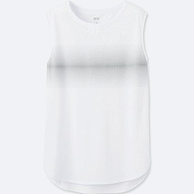 WOMEN Dry REFLECTIVE PRINT Tank Top