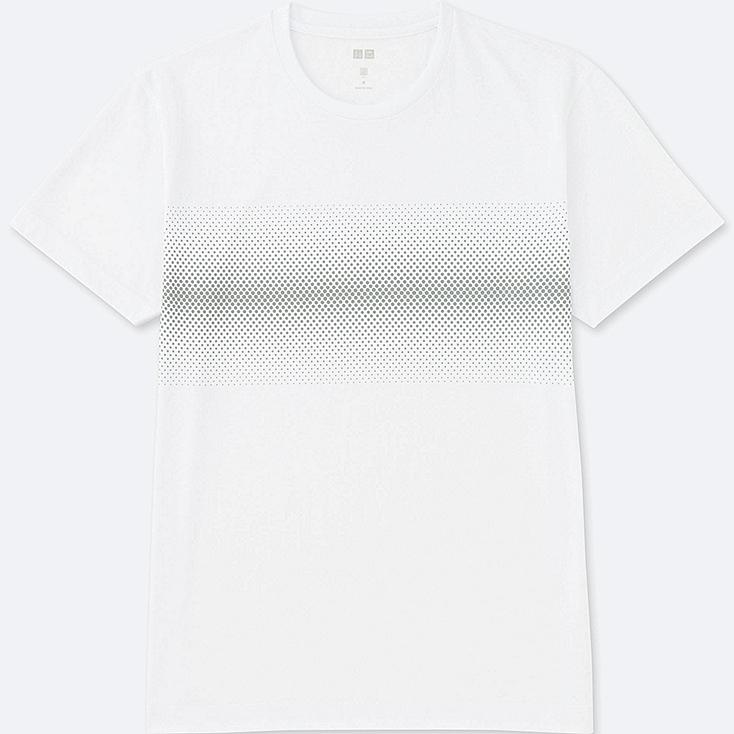 MEN Dry REFLECTIVE PRINT Short Sleeve T-Shirt