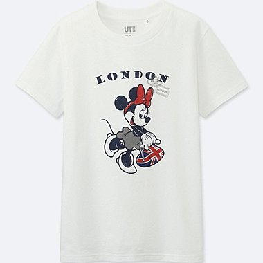 WOMEN MICKEY TRAVELS SHORT-SLEEVE GRAPHIC T-SHIRT, WHITE, medium