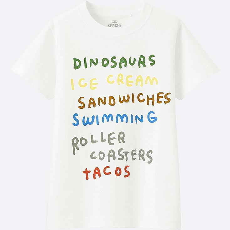 KIDS SPRZ NY Short Sleeve Graphic T-Shirt (Jason Polan)