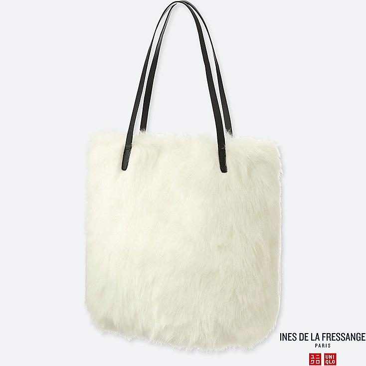 INES - SAC effet SHEARLING FEMME