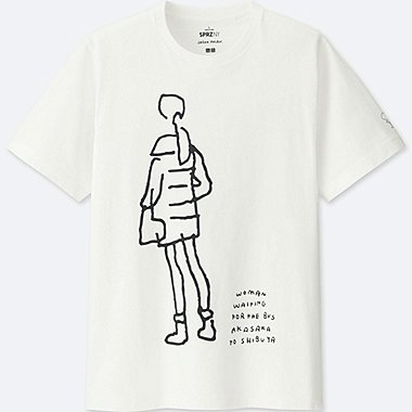 MEN SPRZ NY Short Sleeve Graphic T-Shirt (JASON POLAN), WHITE, medium