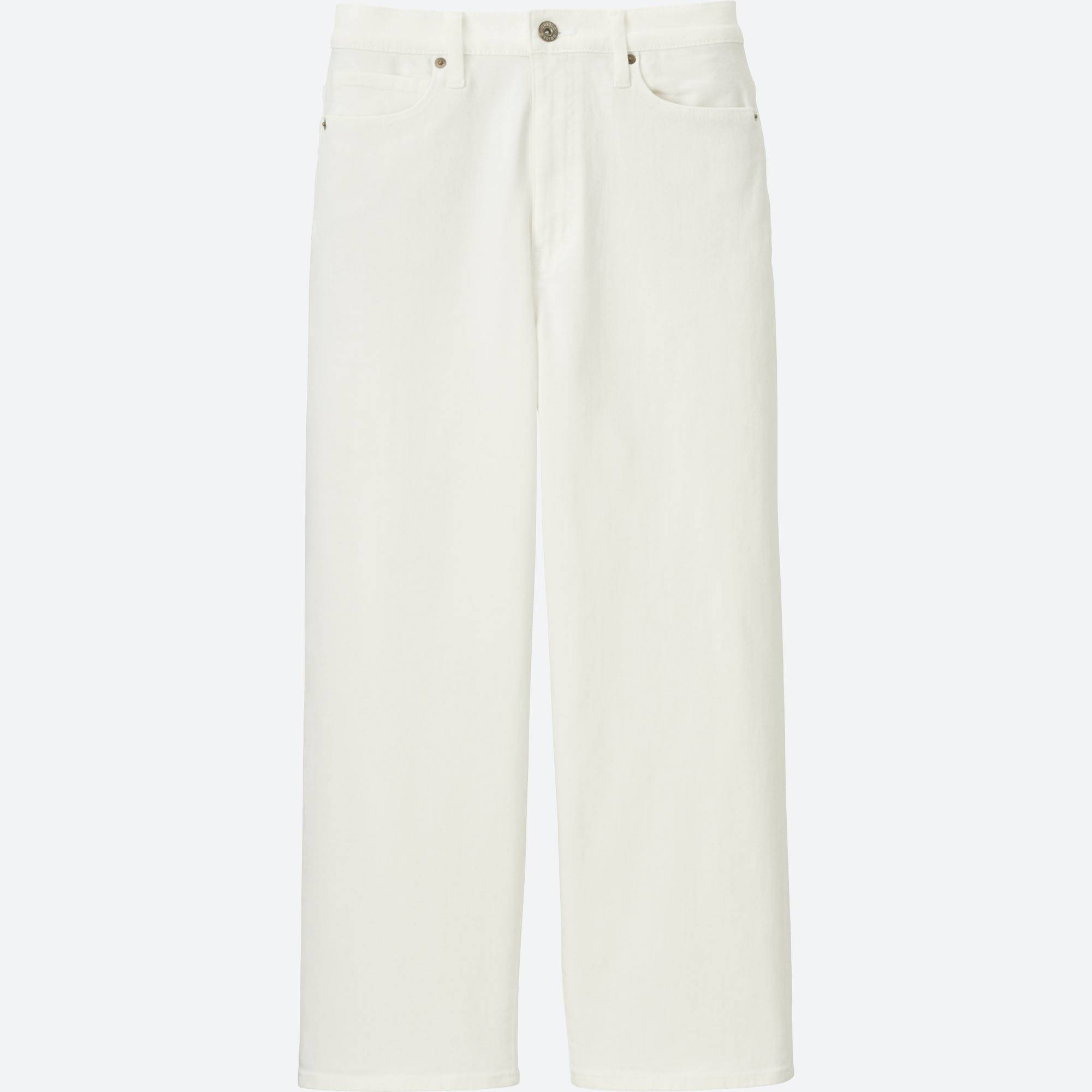 WOMEN HIGH-RISE WIDE-LEG CROPPED JEANS | UNIQLO US