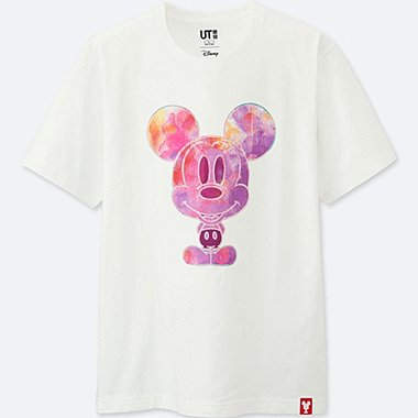 MEN MICKEY 100 SHORT SLEEVE GRAPHIC T-SHIRT