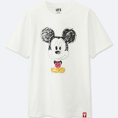 MEN MICKEY 100 SHORT-SLEEVE GRAPHIC T-SHIRT, WHITE, medium