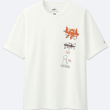 MEN SPRZ NY SHORT-SLEEVE GRAPHIC T-SHIRT (J. M. Basquiat), WHITE, medium