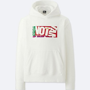 MEN SPRZ NY GRAPHIC HOODIE (CORITA KENT), WHITE, medium