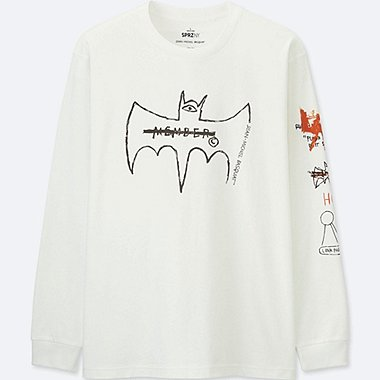 MEN SPRZ NY LONG SLEEVE GRAPHIC T-SHIRT (JEAN-MICHEL BASQUIAT)
