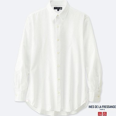 MEN INES COTTON TWILL LONG SLEEVE SHIRT