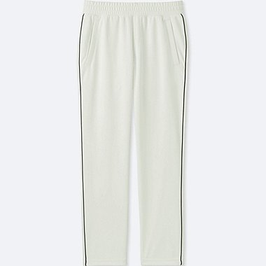 MEN TRICOT JERSEY PANTS, WHITE, medium