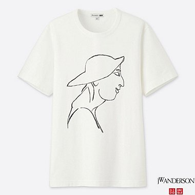 J.W.ANDERSON SHORT SLEEVE GRAPHIC T-SHIRT
