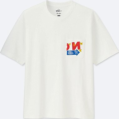MEN SPRZ NY SHORT-SLEEVE GRAPHIC T-SHIRT (Corita Kent), WHITE, medium