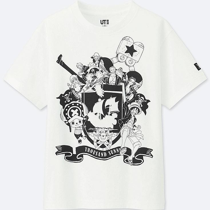 KIDS ONE PIECE GRAPHIC SHORT SLEEVE T-SHIRT