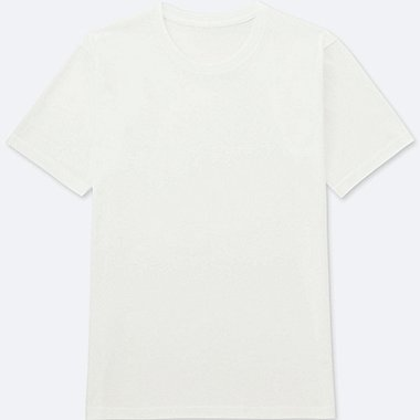 MEN PACKAGED DRY CREWNECK SHORT-SLEEVE T-SHIRT, WHITE, medium