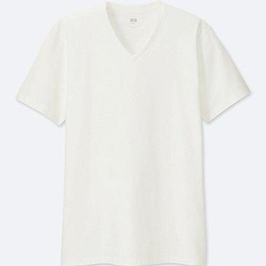 Herren SUPIMA BAUMWOLL T-Shirt (V-Ausschnitt)